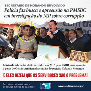 Corrupção na PMSBC