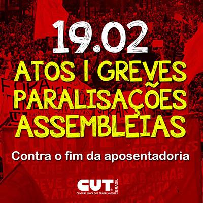 greve 19 de fevereiro