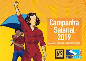 campanha salarial 2019