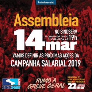 assembleia 14 março