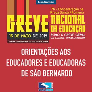 greve da educação
